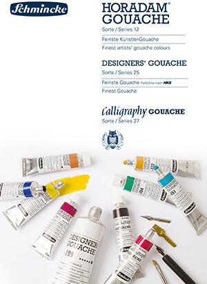 HORADAM® Gouache,Dsigners´ Gouache and Calligraphy Gouache